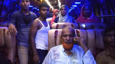 চাঁপাইনবাবগঞ্জে এক রাতে ৩৩ বাসে ডাকাতি